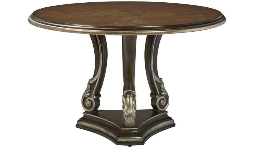 Dining Tables Stunning Polished and Chic Dining Table