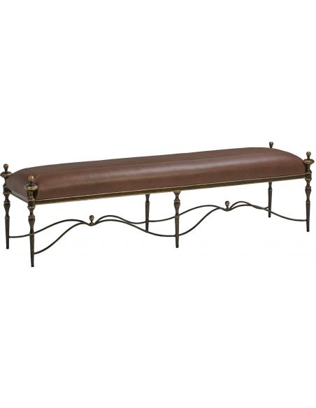SETTEES, CHAISE, BENCHES Luxurious Chocolatier's Dream Bench
