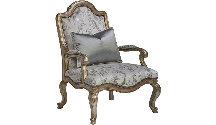 CHAIRS, Leather, Upholstered, Accent Beautiful Cinderella's Carriage Accent Chair