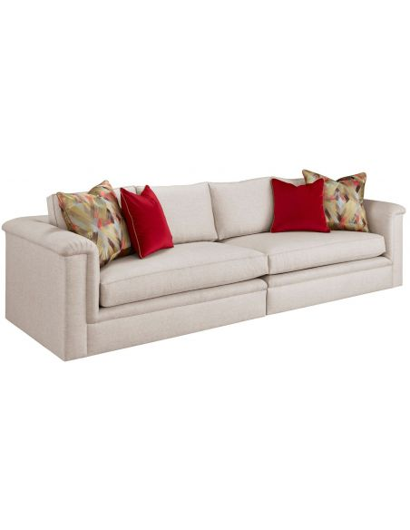 Modern Furniture High End Artist's Canvas Sectional