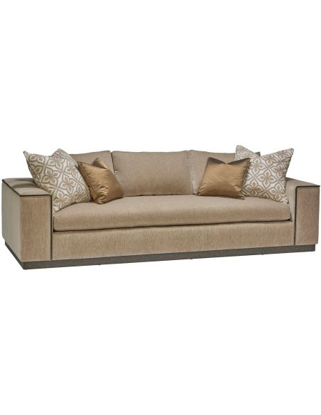 Modern Furniture High End Bronzed and Beautiful Sofa