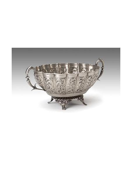 Decorative Accessories High Quality Furniture Handled Centrepiece Bowl