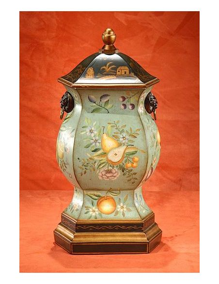 Decorative Accessories High Quality Furniture Faux Wood Fruited URN