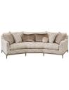 Modern Furniture Gorgeous Harvest Beige Sofa