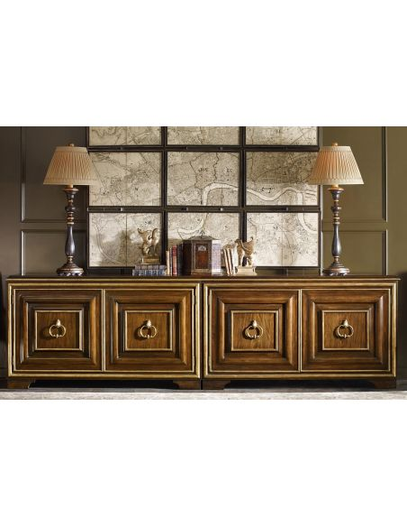 Breakfronts & China Cabinets Gorgeous Wash of Willowbrook Credenza