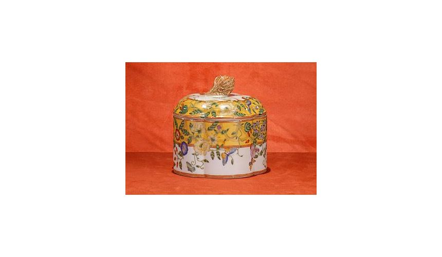 Decorative Accessories High Quality Furniture Hand Painted Covered Box