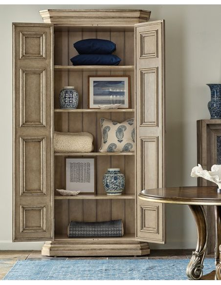 Display Cabinets and Armories Stunning Wild Birch Armoire