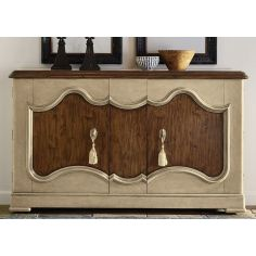 Gorgeous Stable Brown Credenza