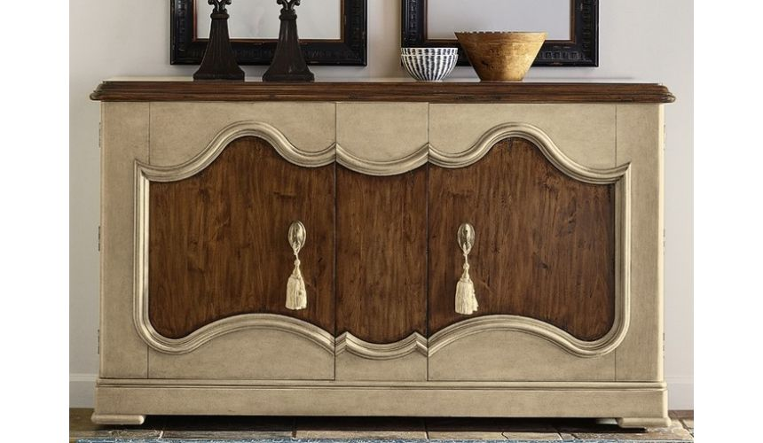 Breakfronts & China Cabinets Gorgeous Stable Brown Credenza