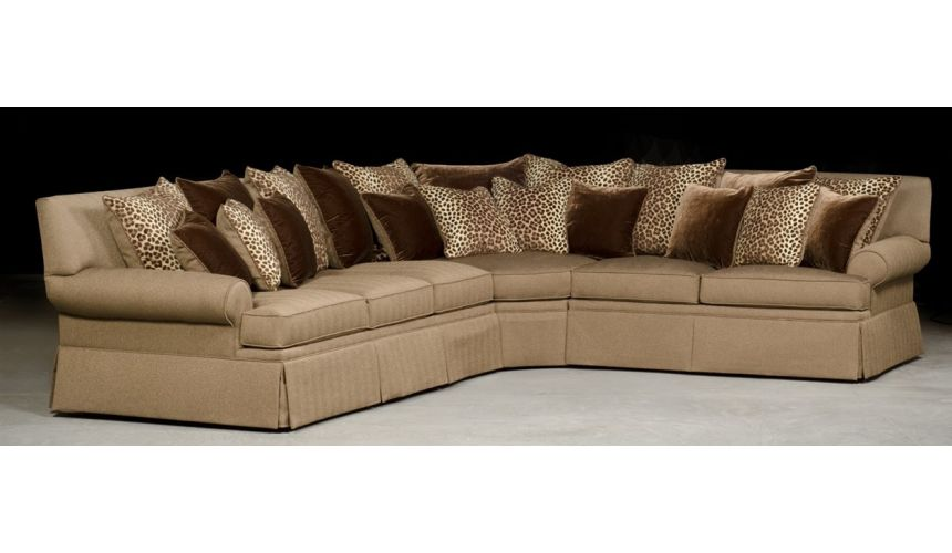 Luxury Leather & Upholstered Furniture Best Value, Grand Sectional Sofa
