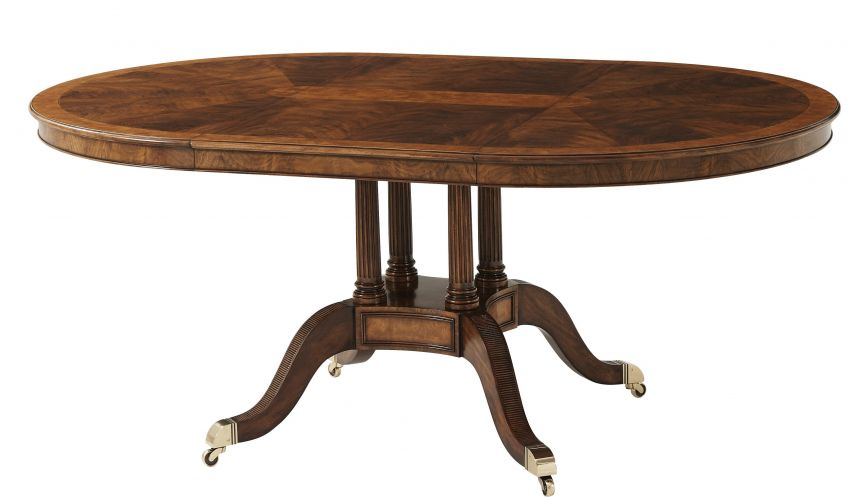 Dining Tables Round to oval formal table