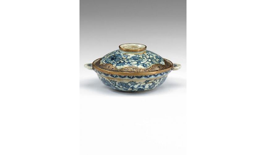 Decorative Accessories Home Accessories Tabletop Decor Covered Bowl