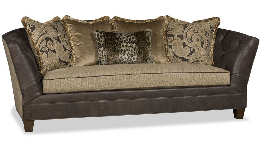 SOFA, COUCH & LOVESEAT Little bit of wild side traditional sofa