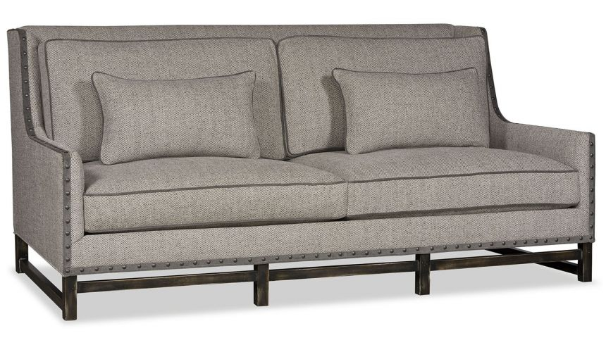 SOFA, COUCH & LOVESEAT Modern sofa with wood frame