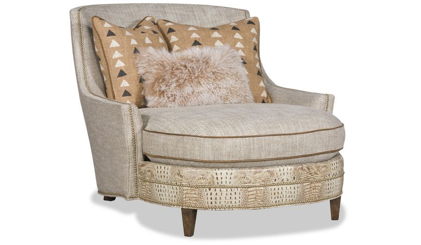SETTEES, CHAISE, BENCHES Breathtaking Sophisticated modern chaise