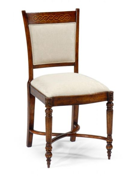 Dining Chairs Home Furnishings High End Dinning Room Furniture Side Chair with hand carved legs
