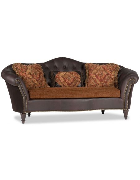 SOFA, COUCH & LOVESEAT Leather Loveseat Sofa