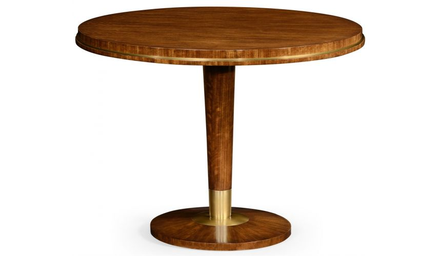 Hyedua wood circular centre table.