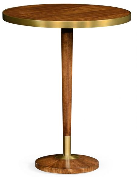 Hyedua wood lamp table .