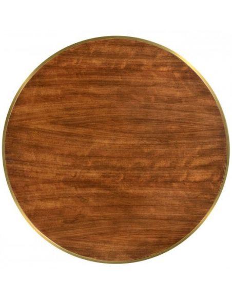 Hyedua wood lamp table .