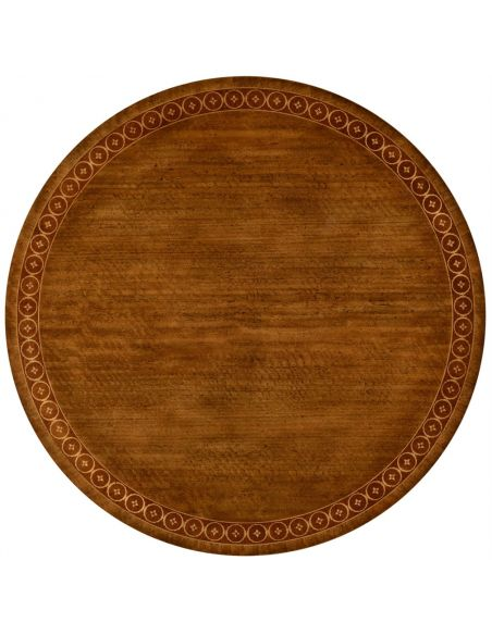 Napoleon III style circular centre table with fine inlay.