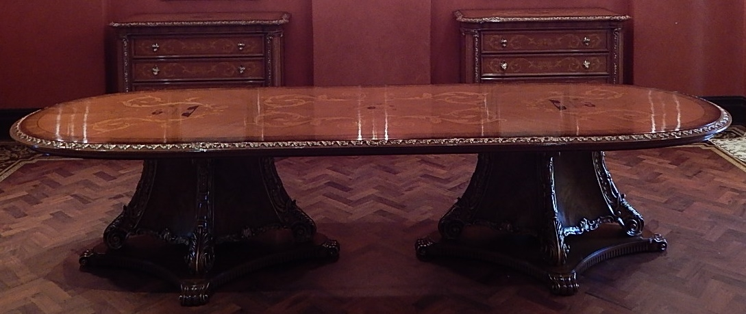 Dining Tables 1 Custom high end dining room table - 1 Custom High End Dining Room Table