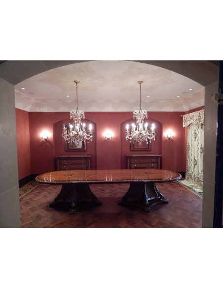 Dining Tables 1 Custom high end dining room table