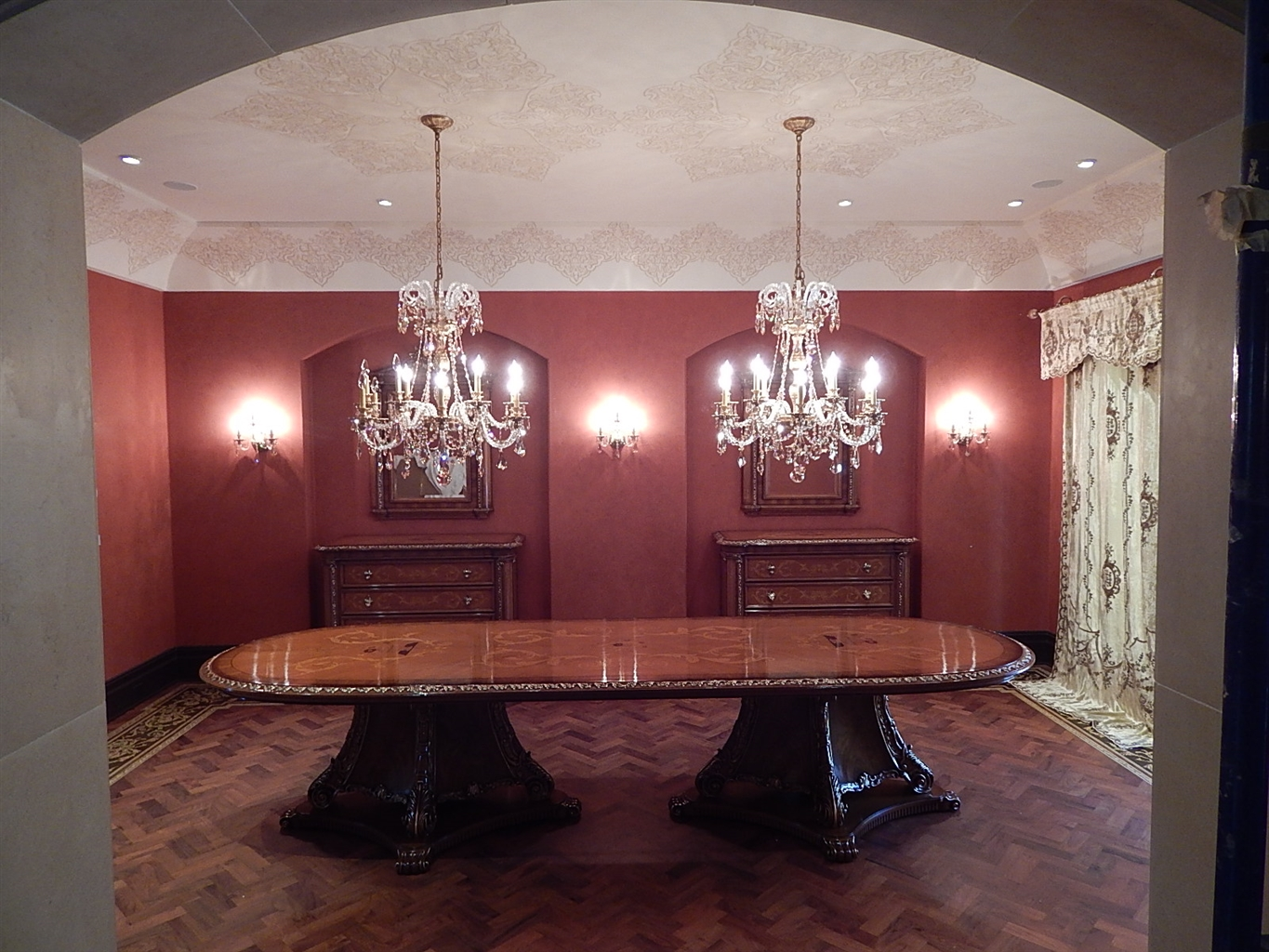 Dining Tables 1 Custom High End Room Table