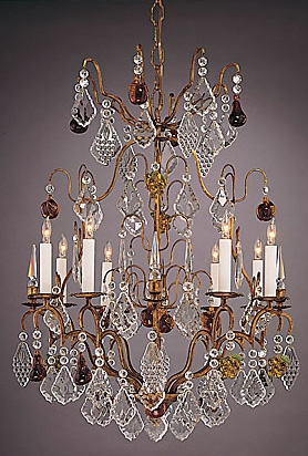 Bronze lead crystal chandelier lighting bronze lead crystal chandelier aloadofball Image collections