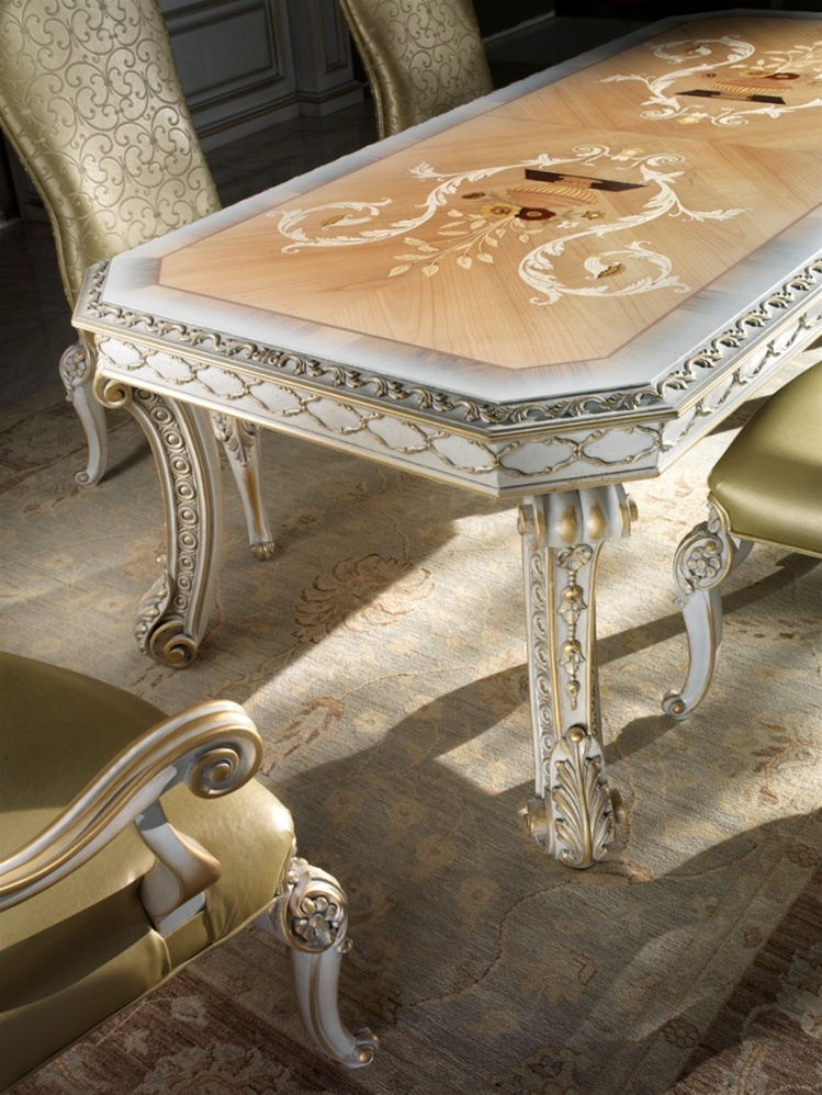 1 high end italian furniture dining room table for Italian furniture