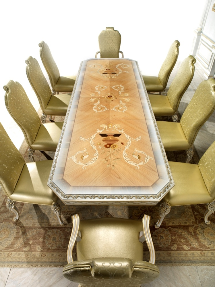 High End Italian Furniture High End Dining Room Table