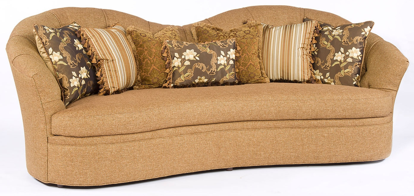 SOFA, COUCH & LOVESEAT Curved Back Sofa