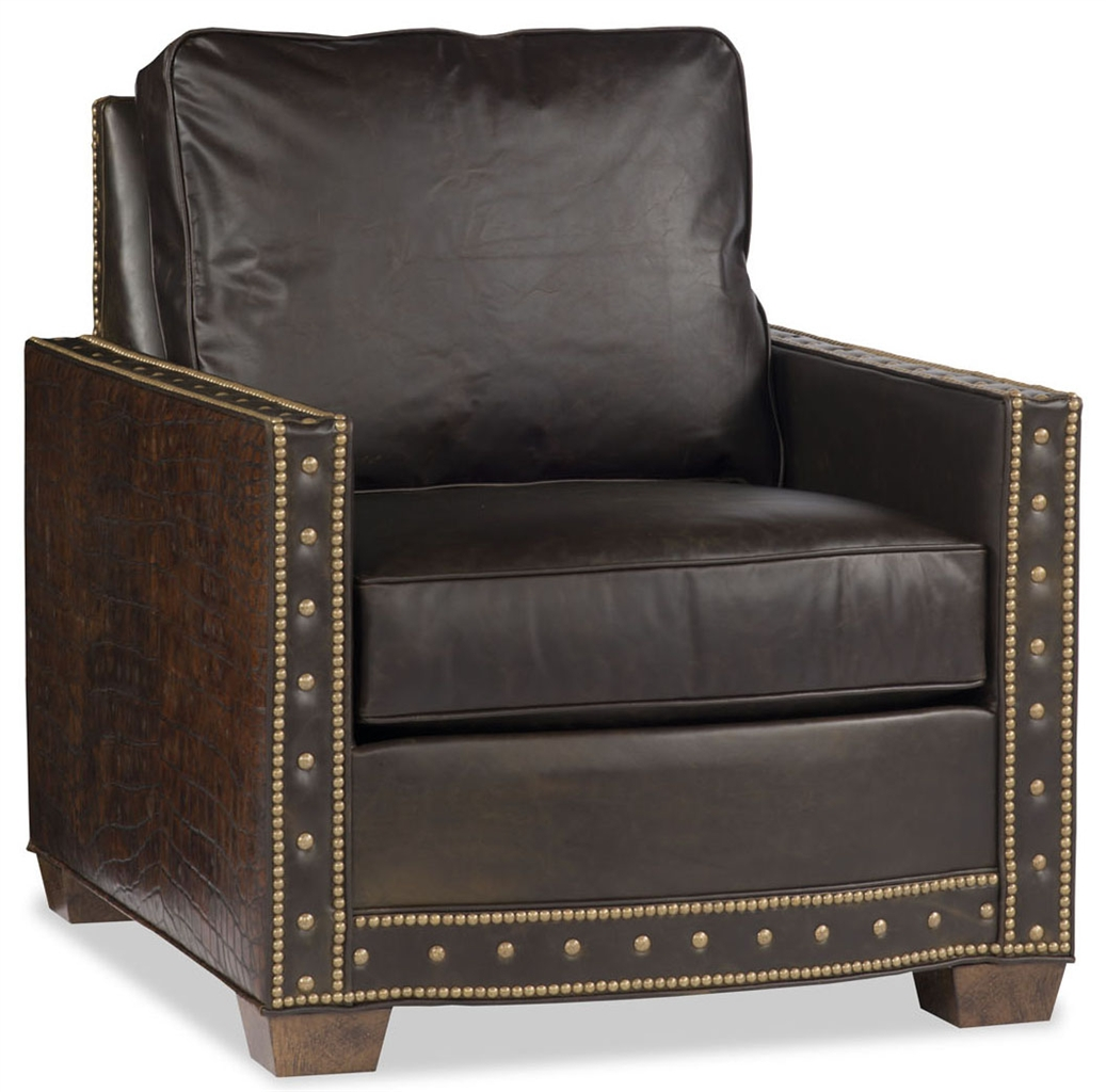 Square Shaped Leather Chair