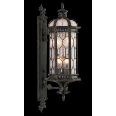 Extra small one light wall mount of antiqued bronze finish