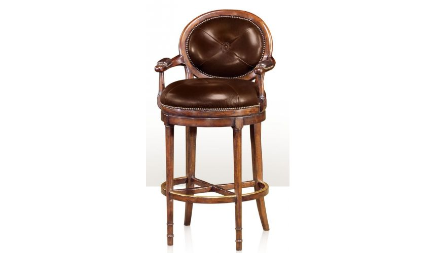 Luxury Leather & Upholstered Furniture Barolo Bar Stool
