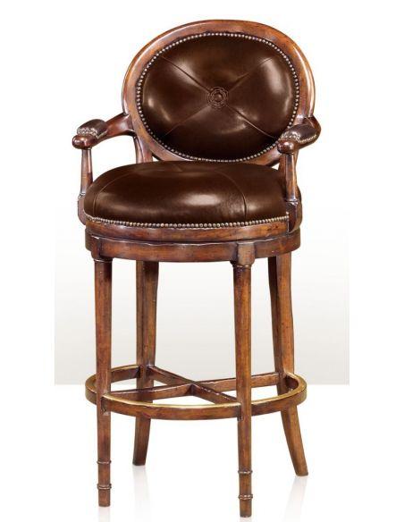 Luxury Leather & Upholstered Furniture Barolo Bar Stool