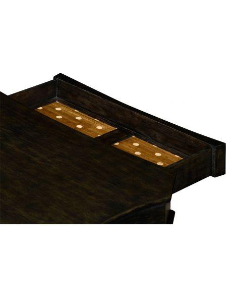Yarne table (Charcoal Wash)