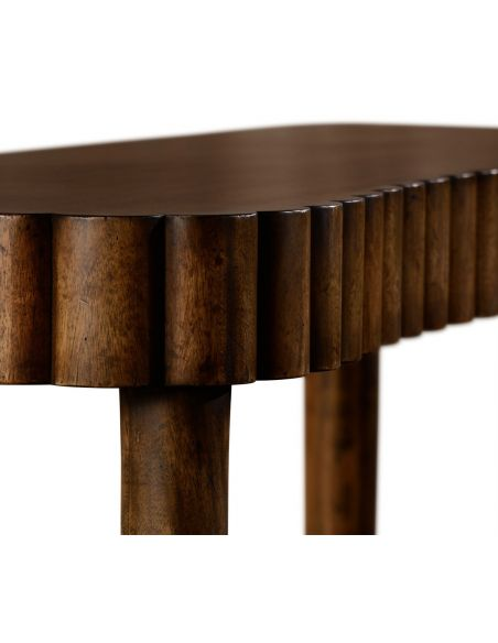 Allerdale console (Grey fruitwood)