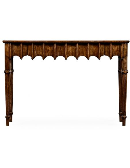 Artaross console table (Grey mahogany)