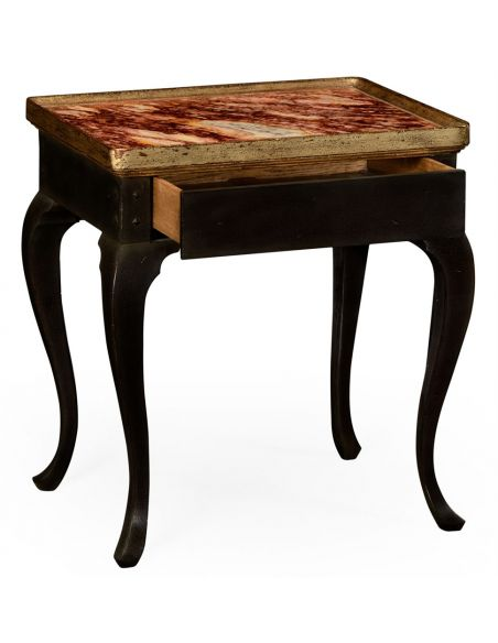 Hemsley table multi-marble