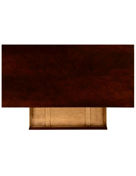 Dudley console (Rich mahogany)