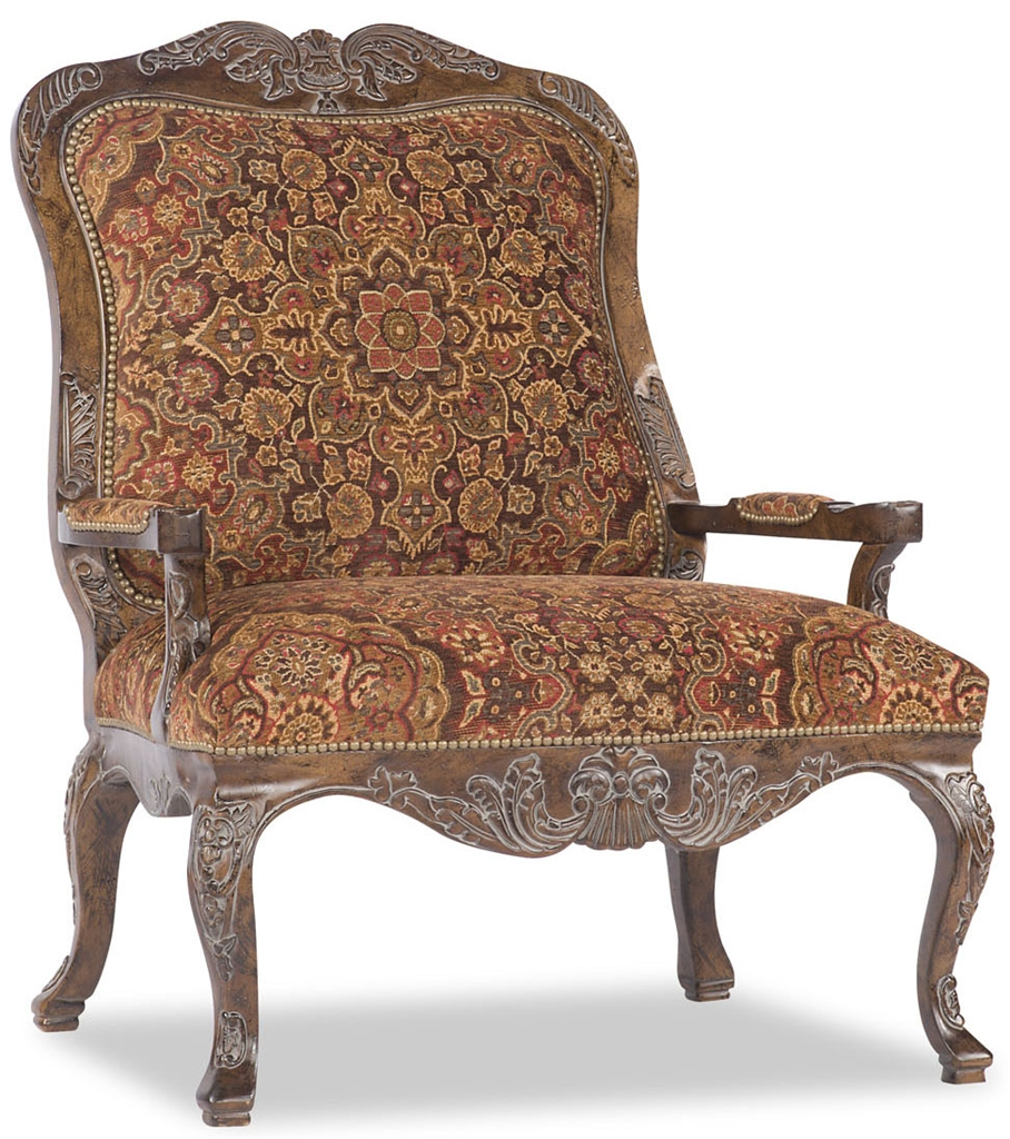 Dining Chairs Royal Arm Chair, Tapestry Pattern