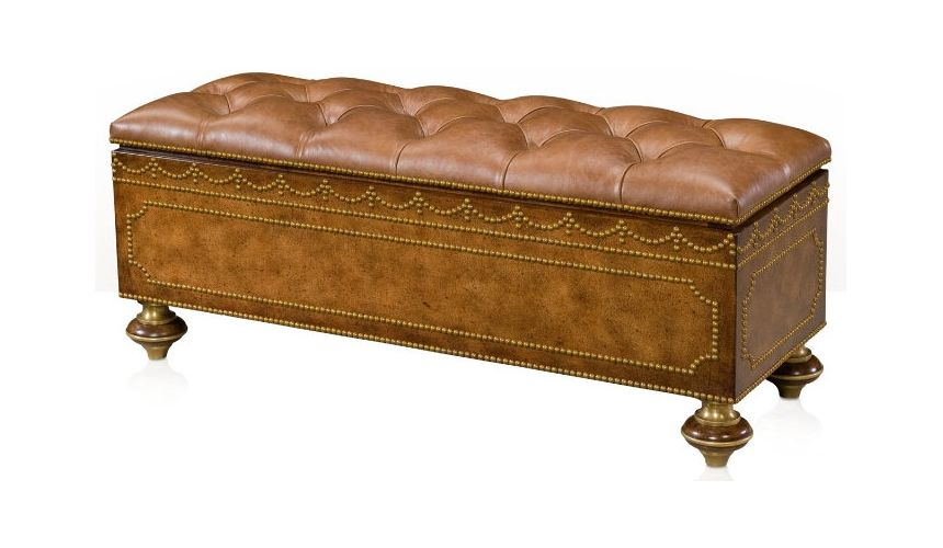 SETTEES, CHAISE, BENCHES Uppingham Ottoman