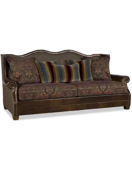 SOFA, COUCH & LOVESEAT Fancy Brown Sofa