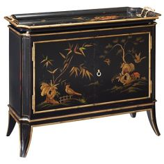 55-38 Italian red gold finish Sideboard/Buffet