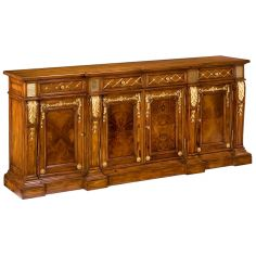 55-78 Solid walnut Sideboard/Buffet