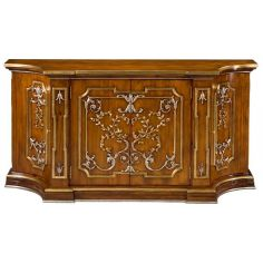 55-97 Old World Walnut finish Sideboard/Buffet