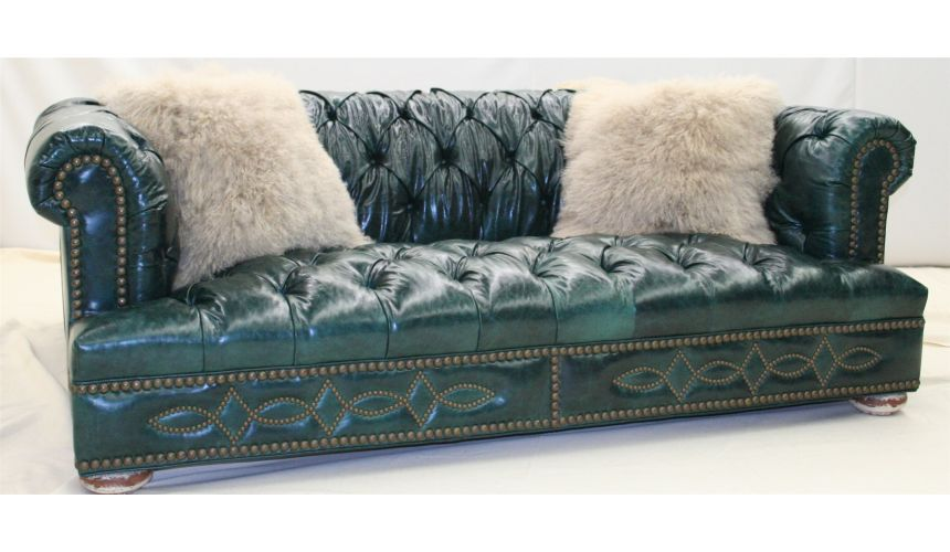 Double Back 2 Back Tufted Chesterfield 1018