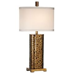 Bubble Patterned Table Lamp