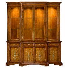 57-53 Old world walnut finish Bookcase